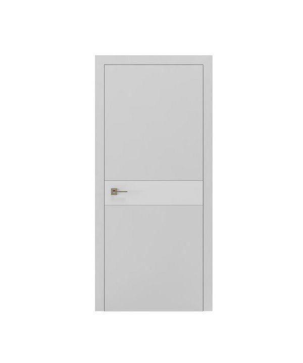 """Дверное полотно """"Berta G"""" шпоне дуб в одном из цветов RAL"""
