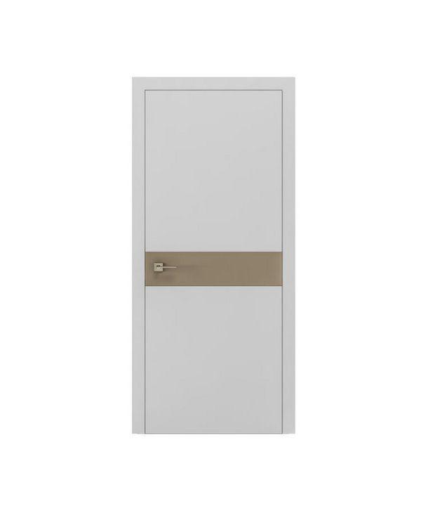 """Дверное полотно """"Berta G"""" белый мат"""