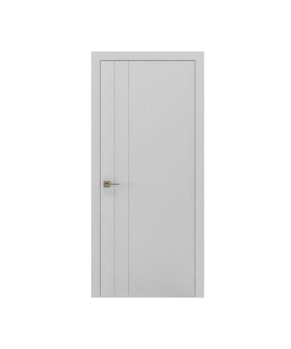 """Дверное полотно """"Berta V"""" белый мат"""
