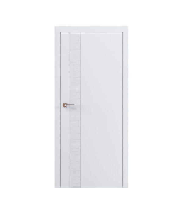 """Дверное полотно """"Wave V"""" белый мат"""