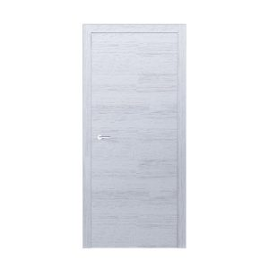 """Дверное полотно """"Surf"""" шпон дуб (дуб белый) 22 фрезеровки шпон"""