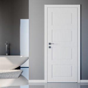 """Дверное полотно """"Dolce"""" белый мат"""