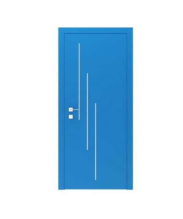 """Дверное полотно """"Prima"""" 3V белый мат"""