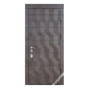 Входная дверь Страж Модель Antracit 3D
