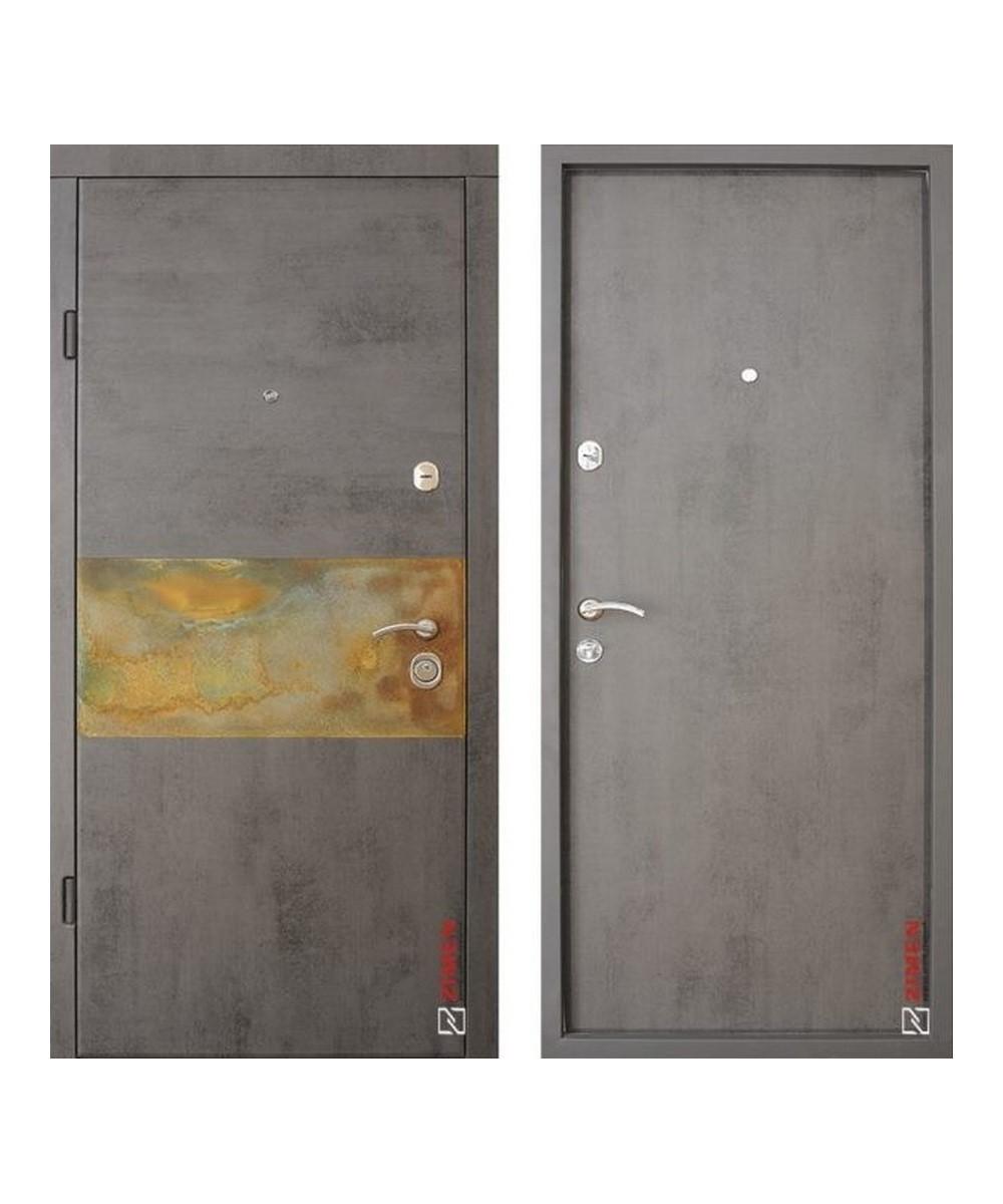 Входная дверь Zimen Модель Rusty