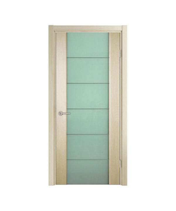 Межкомнатные двери Глазго-М (с молдингом, стекло триплекс)