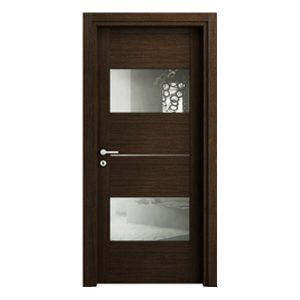 Межкомнатные двери Манчестер-С (со стеклом вместо молдинга)