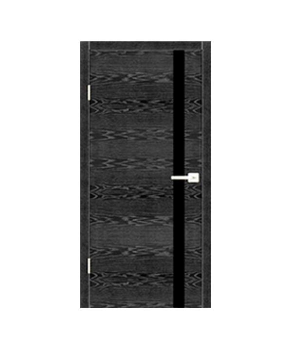 Межкомнатные двери Орлеан + Стекло Лакобель (черное, белое, кремовое)