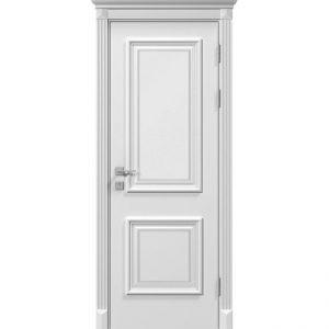 """Дверное полотно """"Laura"""" глухое, белый мат"""
