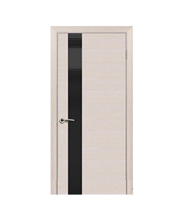Межкомнатные двери Торонто + Стекло Лакобель (черное, белое, кремовое)