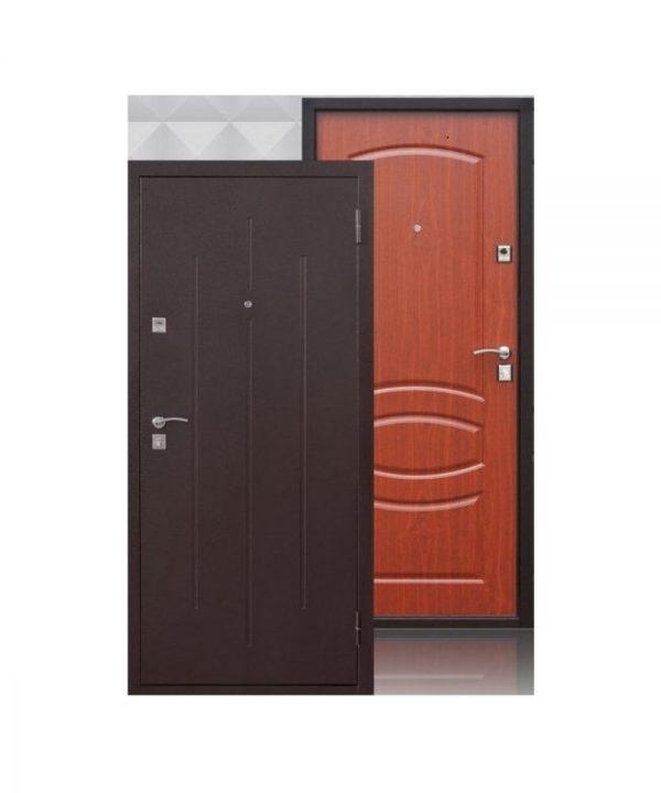 Входная дверь Стройгост 7-2 металл/хдф Итальянский орех (1200х2050)