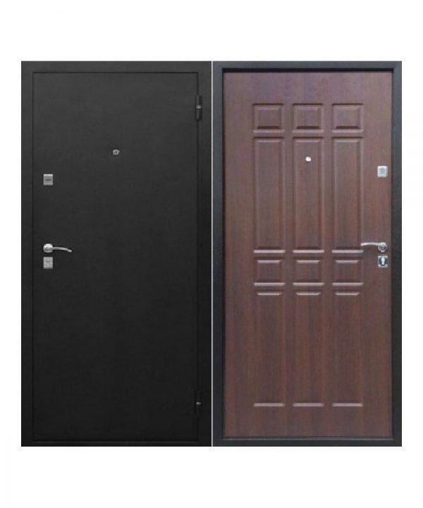 Входная дверь Сопрано металл/мдф Дуб шоколадный