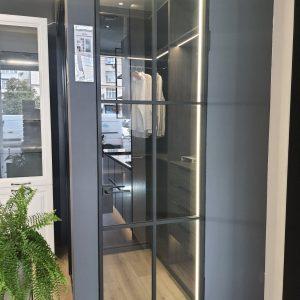 Алюминиево стеклянные двери